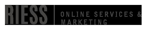 RIESS – Online Services und Marketing für Selbstständige Logo